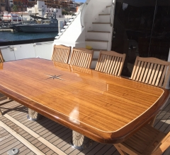 aft deck new table