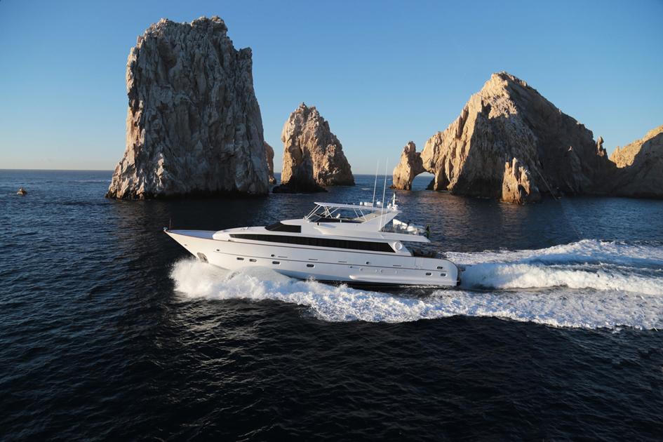 85ft Yacht Contessa Cabo San Lucas